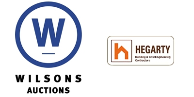 Wilsons Auctions and PJ Hegarty Logo